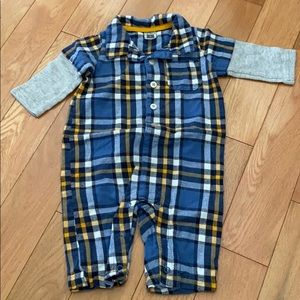 Carter's 6 months plaid one piece